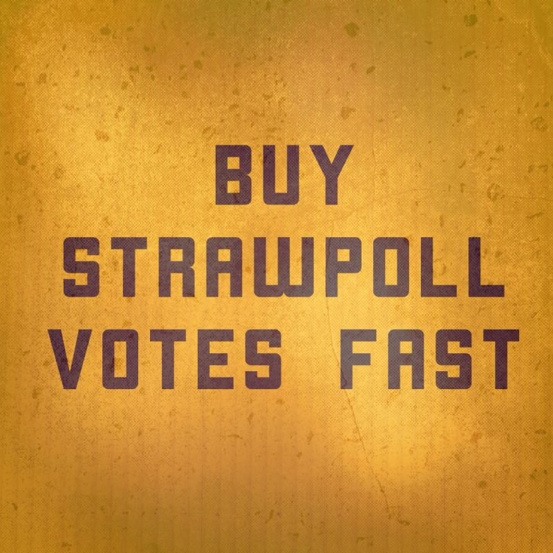 Get StrawPoll Votes Online | Buy Contest Votes Fast